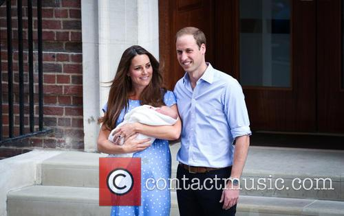 Prince William, Duke of Cambridge, Catherine, Duchess of Cambridge and Baby Cambridge 40