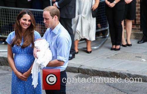 Prince William, Duke of Cambridge, Catherine, Duchess of Cambridge and Baby Cambridge 42