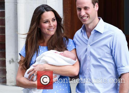 Prince William, Duke of Cambridge, Catherine, Duchess of Cambridge and Baby Cambridge 46