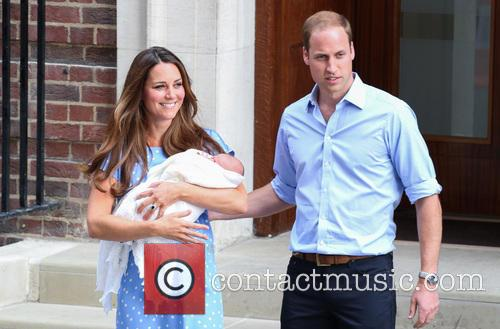 Prince William, Duke of Cambridge, Catherine, Duchess of Cambridge and Baby Cambridge 51