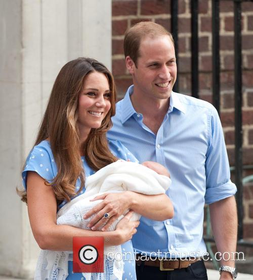 Prince William, Duke of Cambridge, Catherine, Duchess of Cambridge and Baby Cambridge 70