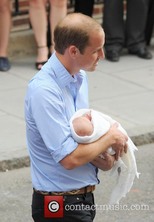Prince William, Duke of Cambridge and Baby Cambridge 7