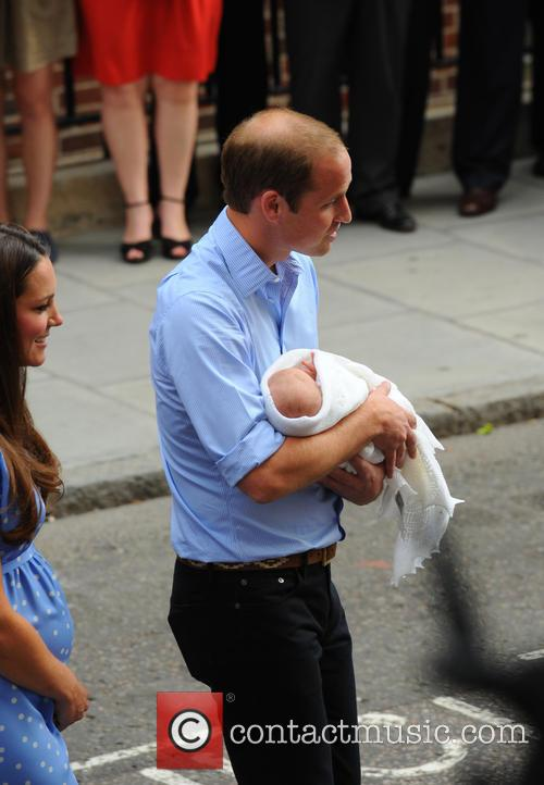 Prince William, Duke of Cambridge and Baby Cambridge 1