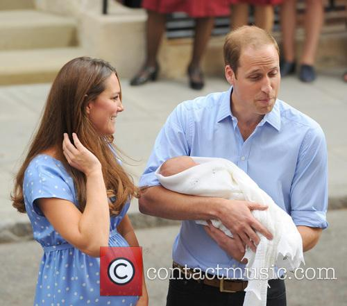 Prince William, Duke of Cambridge, Catherine, Duchess of Cambridge and Baby Cambridge 55