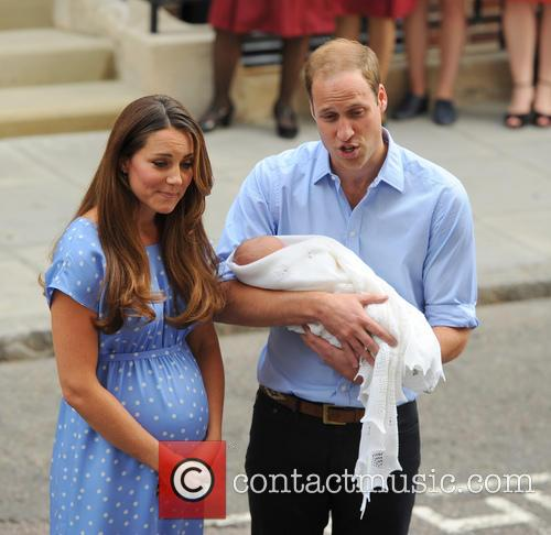 Prince William, Duke of Cambridge, Catherine, Duchess of Cambridge and Baby Cambridge 57