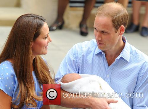 Prince William, Duke of Cambridge, Catherine, Duchess of Cambridge and Baby Cambridge 58