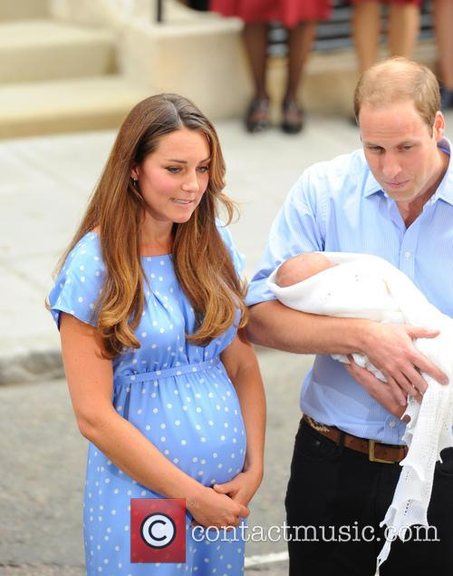 Prince William, Duke of Cambridge, Catherine, Duchess of Cambridge and Baby Cambridge 65