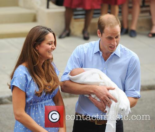 Prince William, Duke of Cambridge, Catherine, Duchess of Cambridge and Baby Cambridge 66