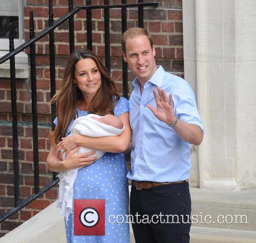 Prince William, Kate Middleton and Baby Cambridge 3