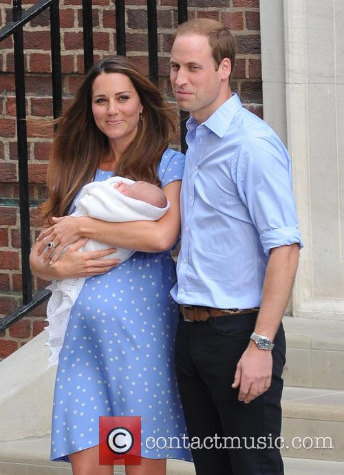 Kate Middleton, Duchess Of Cambridge, Prince William, Duke Of Cambridge and Baby Cambridge 5