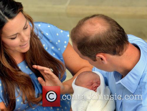 Prince William, Duke of Cambridge, Catherine, Duchess of Cambridge and Baby Cambridge 31