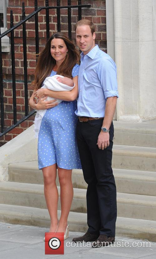 Kate Middleton, Prince William and Baby Cambridge 3