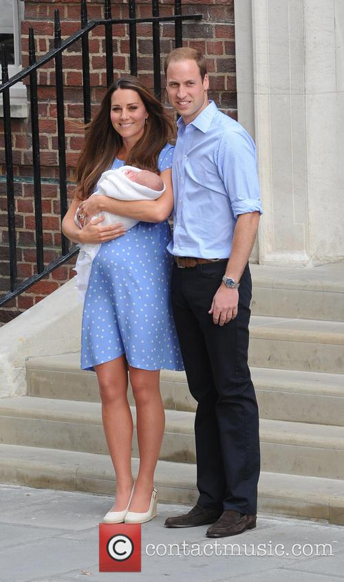Kate Middleton, Prince William and Baby Cambridge 5