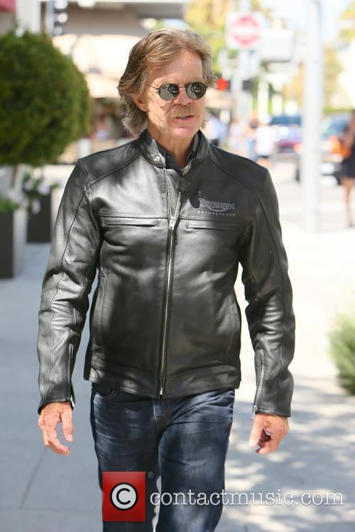 William H. Macy seen out and about