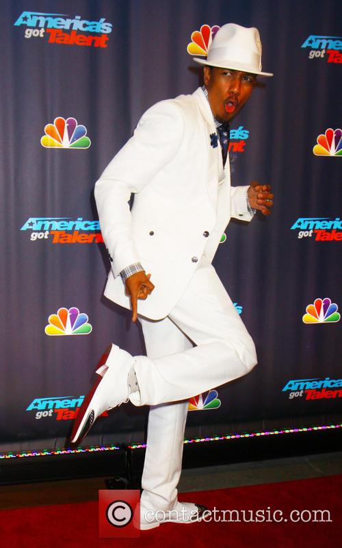 nick cannon red carpet for americas got 3778621