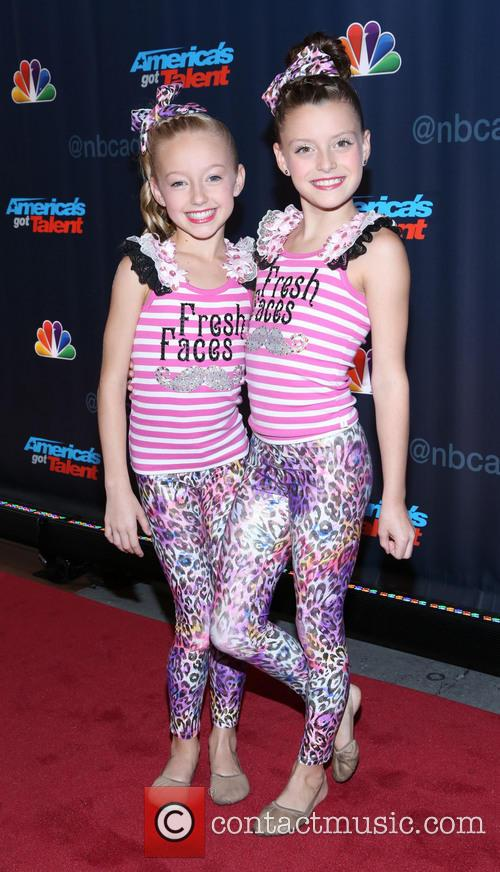 Americas Got Talent and Fresh Faces 1