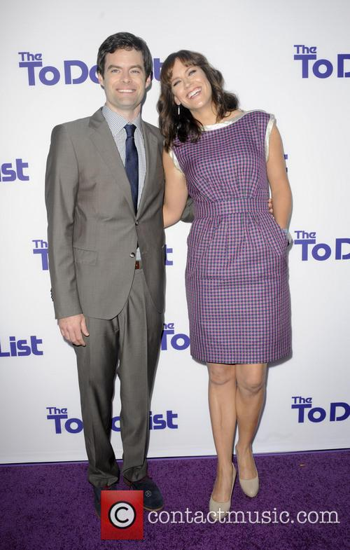 Bill Hader and Maggie Carey 2
