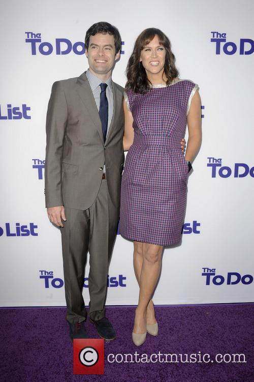 Bill Hader and Maggie Carey 5