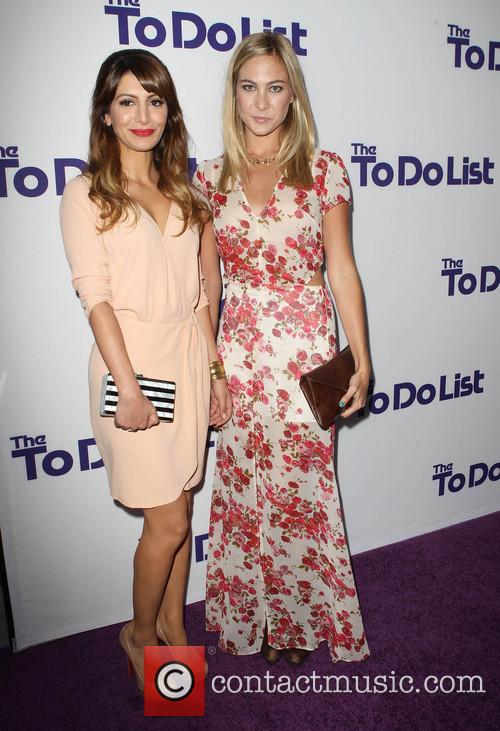 Nasim Pedrad and Molly Mcqueen 7