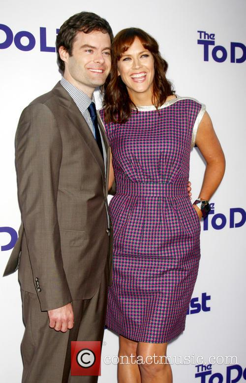 Bill Hader and Maggie Carey 11