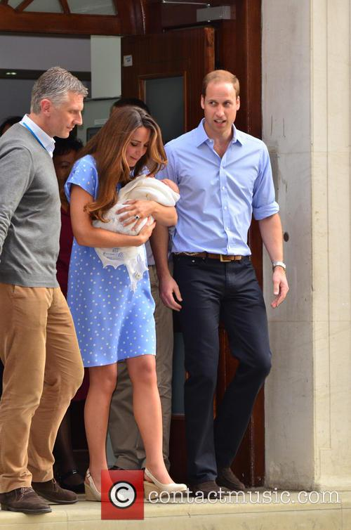 Prince William, Catherine and Kate Middleton 6