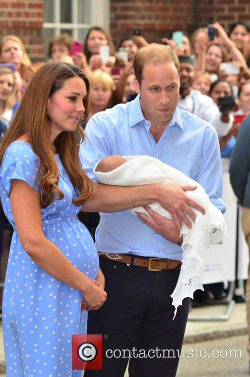 Prince William, Catherine and Kate Middleton 8