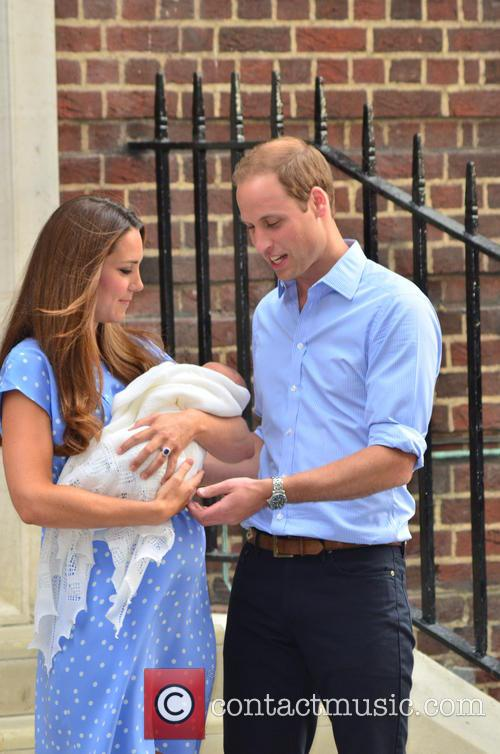 Prince William, Catherine and Kate Middleton 12