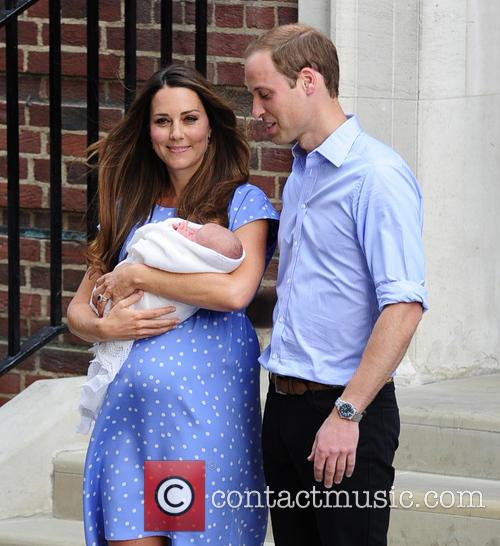 Prince William, Kate Middleton, St Mary's Hospital
