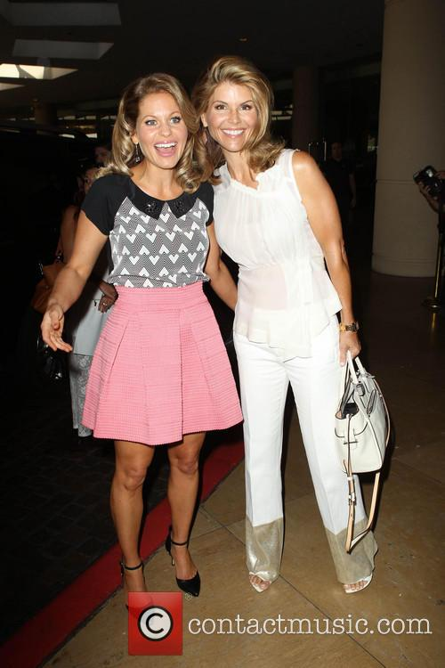 Candace Cameron Bure and Lori Loughlin 11