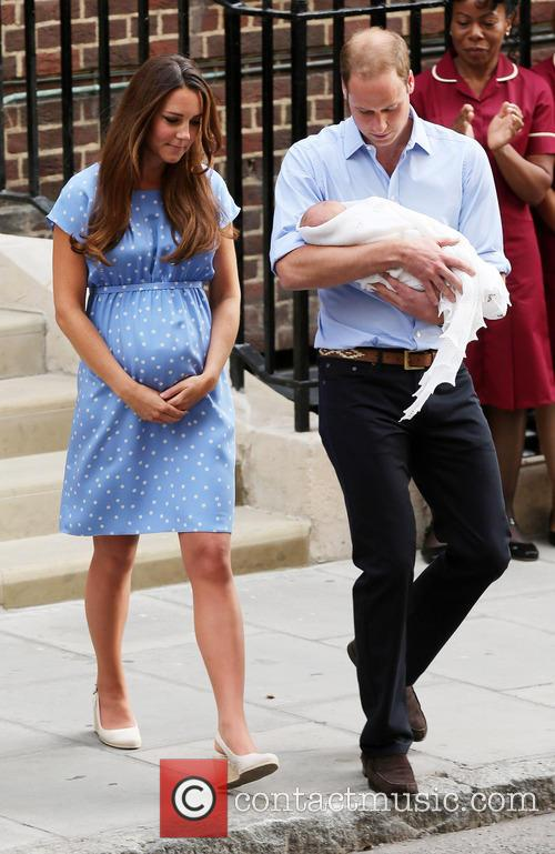 Catherine, Duchess Of Cambridge, Prince William, Duke Of Cambridge and Baby 2