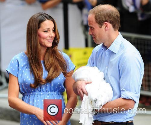 Catherine, Duchess Of Cambridge, Prince William, Duke Of Cambridge and Baby 3