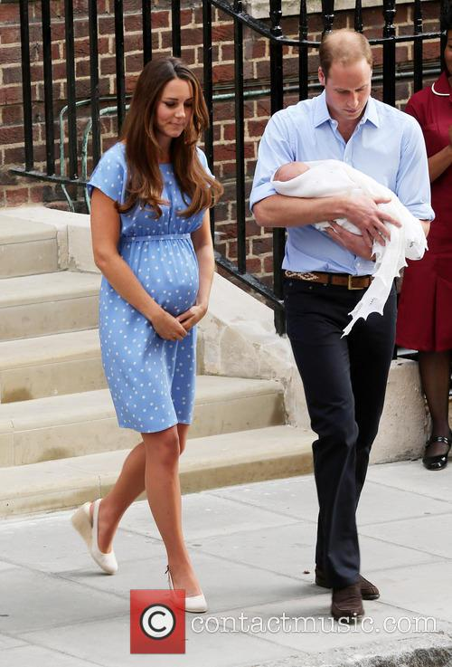 Catherine, Duchess Of Cambridge, Prince William, Duke Of Cambridge and Baby 1