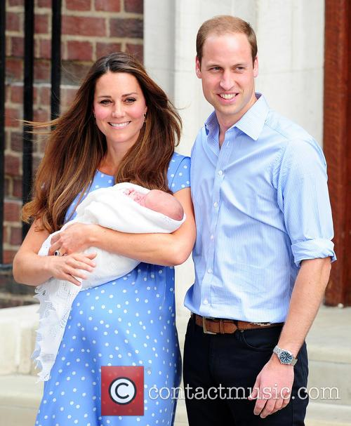 Catherine, Duchess Of Cambridge, Prince William, Duke Of Cambridge and Baby 4