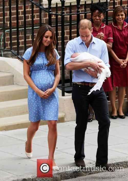Catherine, Duchess Of Cambridge, Prince William, Duke Of Cambridge and Baby 5