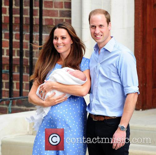 Catherine, Duchess Of Cambridge, Prince William, Duke Of Cambridge and Baby 6