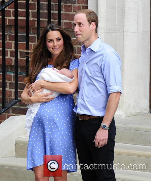 Catherine, Duchess Of Cambridge, Prince William, Duke Of Cambridge and Baby 7