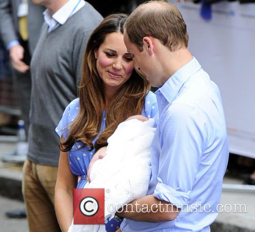 Catherine, Duchess Of Cambridge, Prince William, Duke Of Cambridge and Baby 9