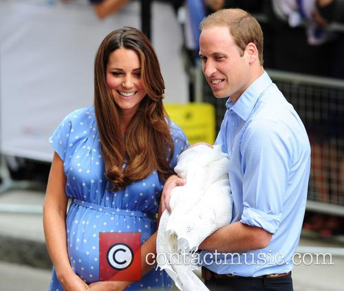 Catherine, Duchess Of Cambridge, Prince William, Duke Of Cambridge and Baby 10