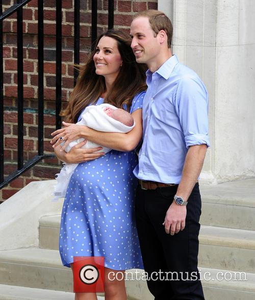 Catherine, Duchess Of Cambridge, Prince William, Duke Of Cambridge and Baby 11
