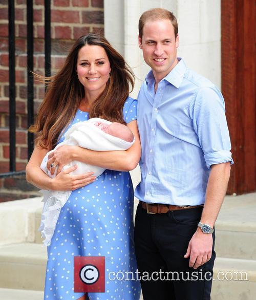 Catherine, Duchess of Cambridge, Prince William, Duke of Cambridge and baby 14