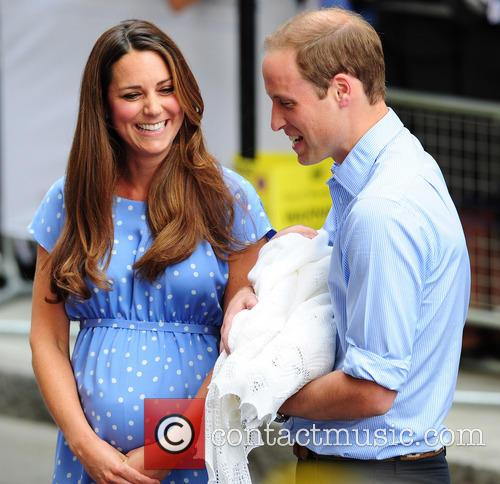 Catherine, Duchess of Cambridge, Prince William, Duke of Cambridge and baby 17