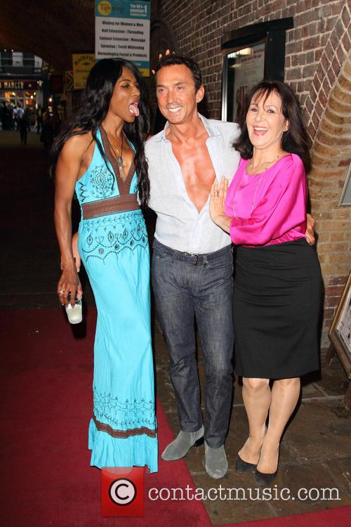 Sinitta, Bruno Tonioli and Arlene Phillips 10