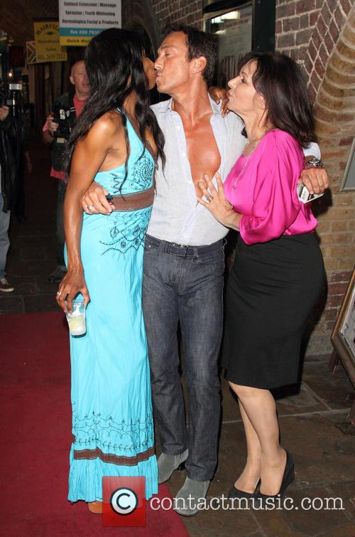 Sinitta, Bruno Tonioli and Arlene Phillips 11