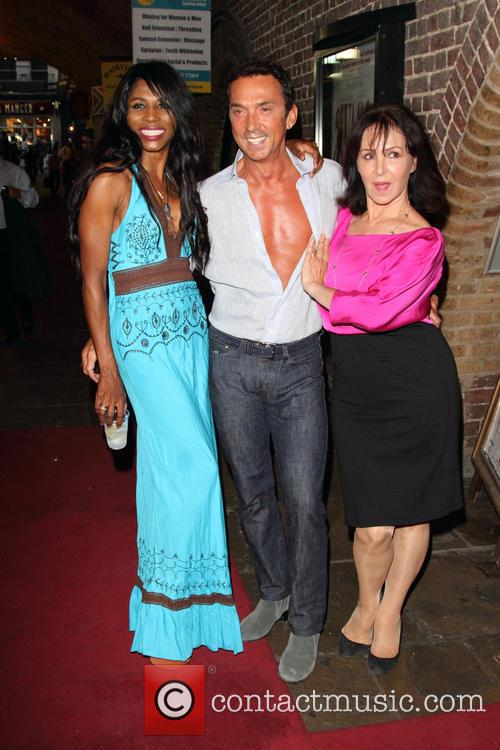 Sinitta, Bruno Tonioli, Arlene Phillips, Charing Cross Theatre