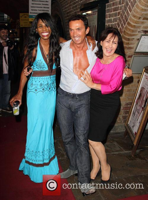 Sinitta, Bruno Tonioli and Arlene Phillips 1