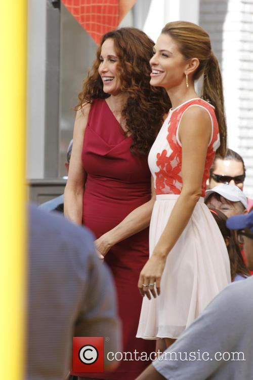 Andie Macdowell and Maria Menounos 4
