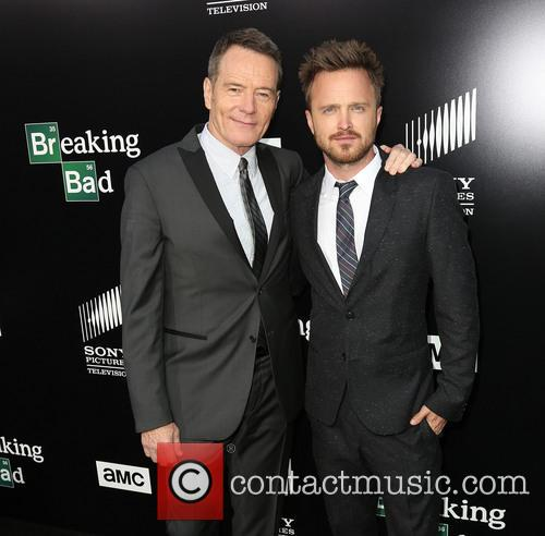 BRYAN CRANSTON and AARON PAUL 2