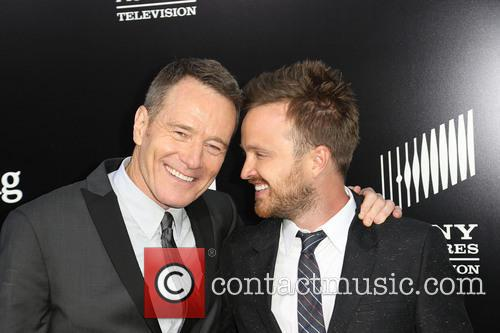 BRYAN CRANSTON and AARON PAUL 8