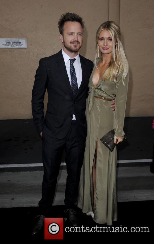 Aaron Paul and Lauren Parsekian 3