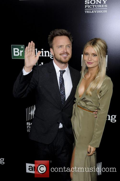 Aaron Paul and Lauren Parsekian 4